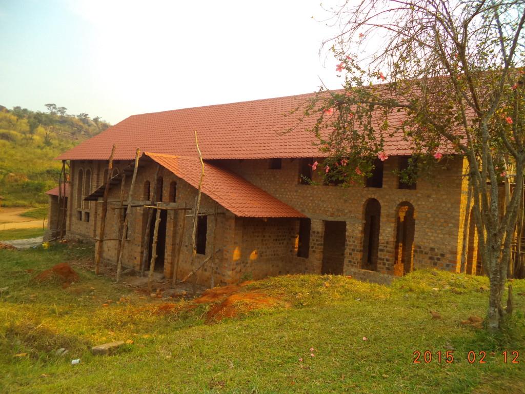Chiesa di San Giuda Taddeo in costruzione